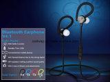 Auricular estéreo de Bluetooth del receptor de cabeza de Bluetooth V4.1 del en-Oído de los deportes para el iPhone
