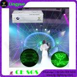 Свет этапа лазера профессионала 3W RGB DJ