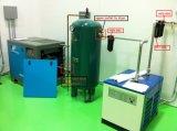 compressore d'aria variabile a magnete permanente certificato Ce della vite di frequenza di 75kw 0.8MPa~1.25MPa