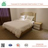 工場供給のアメリカトネリコの木製の寝室の家具は最高のホテルのためにセットした
