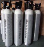 2つの4つのLアルミニウム物質的で小さい携帯用酸素ボンベ
