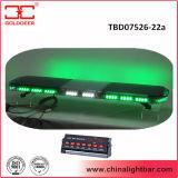 "47 "" grüne LED-blinkende Lichter, Polizeiwagen-helle Stäbe (TBD07526-22A)"
