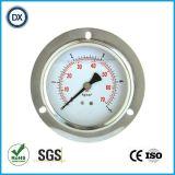 Manomètre rempli d'huile liquide d'indicateur de la pression 003 avec l'acier inoxydable