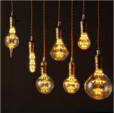 MTX旧式なレトロ型のエジソンの球根E27 2/4/6/8Wの白熱電球ST64の装飾的なフィラメントの球根のエジソンライト