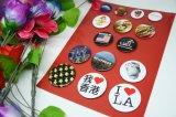 Insignes pour l'insigne en plastique de bouton de Pin de bas d'usagers