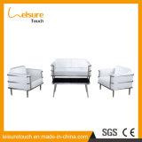 Los muebles al aire libre antienvejecedores del patio del jardín combinaron el conjunto del sofá del arte del paño