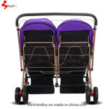 卸し売りベビーカーの双生児の手押車