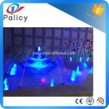 Gicleur laminaire de fontaine du flux Ss304 en cristal multicolore