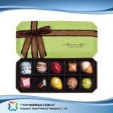 Caixa de empacotamento do chocolate dos doces da jóia do presente do Valentim com fita (XC-fbc-024)