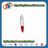 De hete Verkopende Plastic Ballpoint van de Pen van de Nieuwigheid met UVLicht