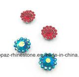 2017 новая и верхняя установка когтя цветка качества 12mm кристаллический шьет на полосе Strass (TP-12mm полностью кристалл Сиама круглый)
