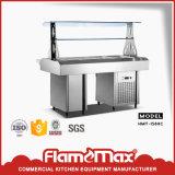 Acier inoxydable 1 buffet Bain Marie de carter (chaud) (HMT-54A)
