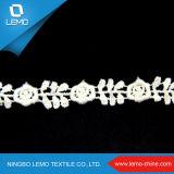 Vestito dalla rappezzatura del merletto di modo di Lemo, materiale del Saree del merletto del silicone dello zucchero