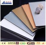 Fabricante compuesto de aluminio de la hoja del panel ACP