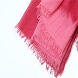 Fabricación vendedora caliente de la fábrica de la bufanda del color de los gradientes del poliester de la alta calidad