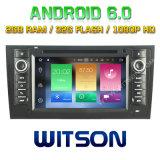 Automobile DVD del Android 6.0 di memoria di Witson otto per Audi A6/S6/RS6