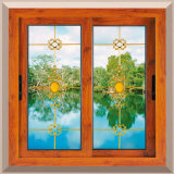 Aluminiumtür-und Fenster-Gitter-Glasfenster Kenia