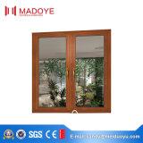 아파트를 위한 고품질 유럽식 Glas 도매 여닫이 창 Windows