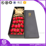 Rectángulo de empaquetado de la flor del diseño especial de encargo del día de tarjeta del día de San Valentín