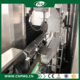 고속의 밑에 정연한 병을%s 수축 소매 레테르를 붙이는 기계