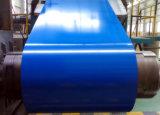 El color azul de SPCC cubrió la bobina de acero galvanizada para las hojas de la azotea de Aluzinc