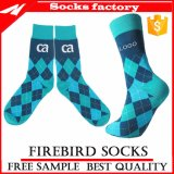 Mannschafts-glückliche Socken der Frauen Baumwoll