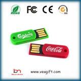 Geschäft USB-Schlüsselgerät USB grelles Pendrive