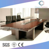 Farben-wahlweise freigestellter Büro-Möbel-Melamin-Konferenztisch