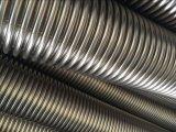 Aislante de tubo acanalado Bendable del metal flexible