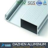 6063 T5 공장 OEM ODM 디자인을%s 가진 알루미늄 롤러 셔터 단면도