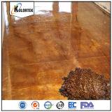 La vernice a resina epossidica del pavimento colora il colorante del pavimento