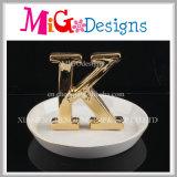 美しい陶磁器のリングの方法整形宝石類のホールダー