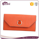 中国の販売のためのハンドメイドのエンベロプの革札入れの財布