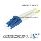 LC van uitstekende kwaliteit 2.0mm de Duplex Optische Schakelaar van de Vezel met Metalen kap