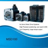 Msd100 alta precesión alta velocidad AC servo motor de accionamiento