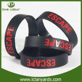 Soem-Armband-Band-Sport-Team-SilikonWristband für Zoll