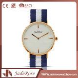 Reloj de señoras simple promocional del acero inoxidable del deporte