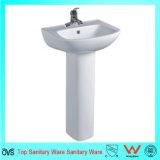 Lavabos sur pied de lavage de salle de bains de forme de salle de bains