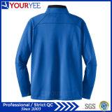 De jupe accessible de Microfleece de polyester de pull de fermeture éclair de qualité demi (YYLR114)