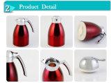 Edelstahl-äußere Karosserien-Glaszwischenlage-Kaffee-Potenziometer, thermischer IsolierCarafe