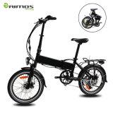 Vélo électrique de Bycicle E de vélo de véhicule électrique de suspension de pouce 250W d'En15194 36V 20