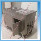 고능률 편평한 팬에 의하여 튀겨지는 아이스크림 기계