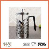 Wschxx030ステンレス鋼のフランス人の出版物のコーヒーメーカー熱い販売法のコーヒー出版物