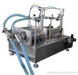 Semi автоматическая объемная машина упаковки бутылки порошка, машина завалки порошка