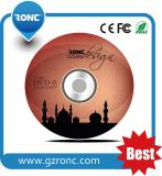 Impresión de la pantalla 3 Color Logo Dural Calidad DVD en blanco 16X
