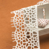 Weiße dekorative kleine Spitze-Hochzeits-Kleid-Muster
