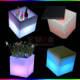Crisol de flor del cubo para el almacenaje del cubo de la decoración del cubo de la sala de estar
