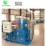 compresor de gas del diafragma del etileno de la presión del enchufe 15MPa