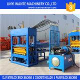Máquina de la máquina del bloque automático del cemento que moldea Qt5-15/de los materiales de construcción