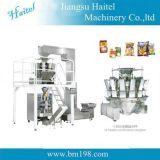 De volledig-automatische Verticale Machine van de Verpakking met de Weger van de Combinatie 10heads voor Voedsel